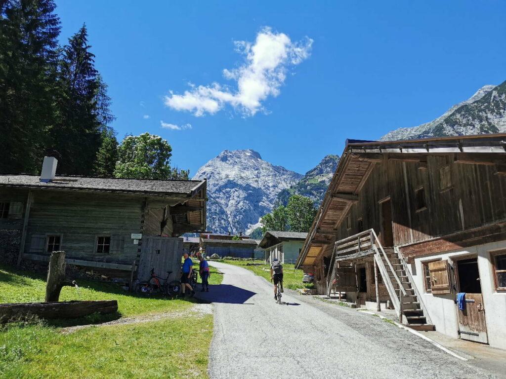 Falzthurnalm im Karwendelgebirge