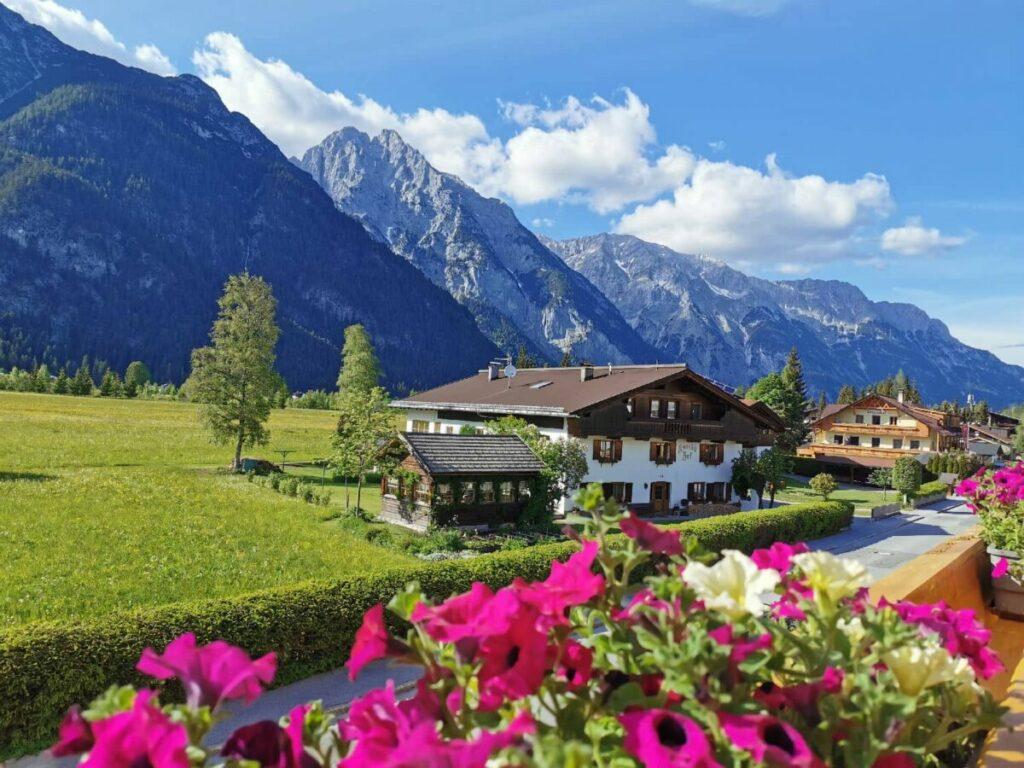 Ferienwohnung Karwendel gesucht? Mit meinen Tipps findest du diese tolle Ferienwohnung