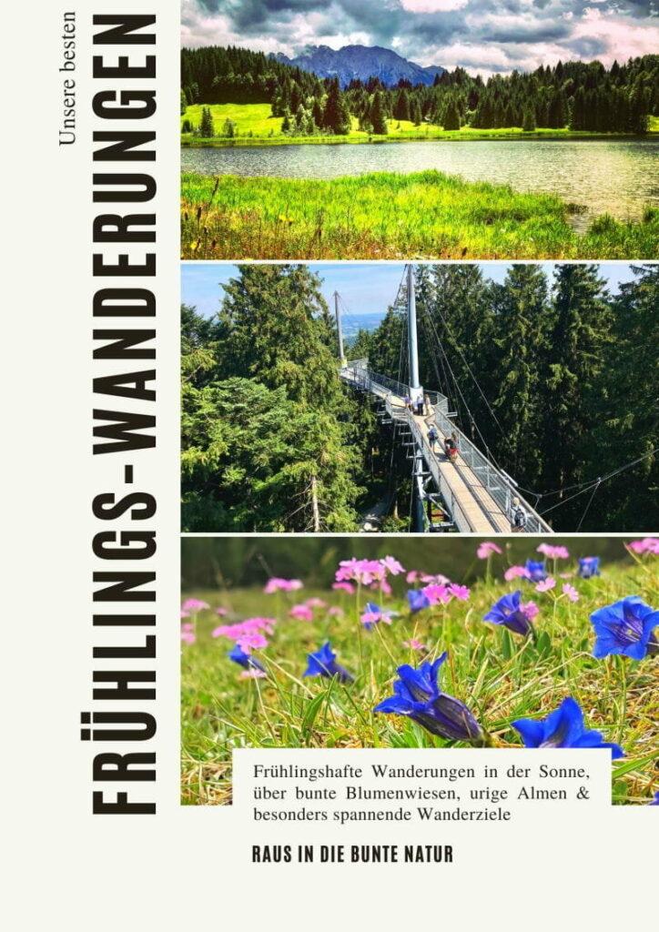 E-Book mit den besten Frühlingswanderungen - auf 70 Seiten