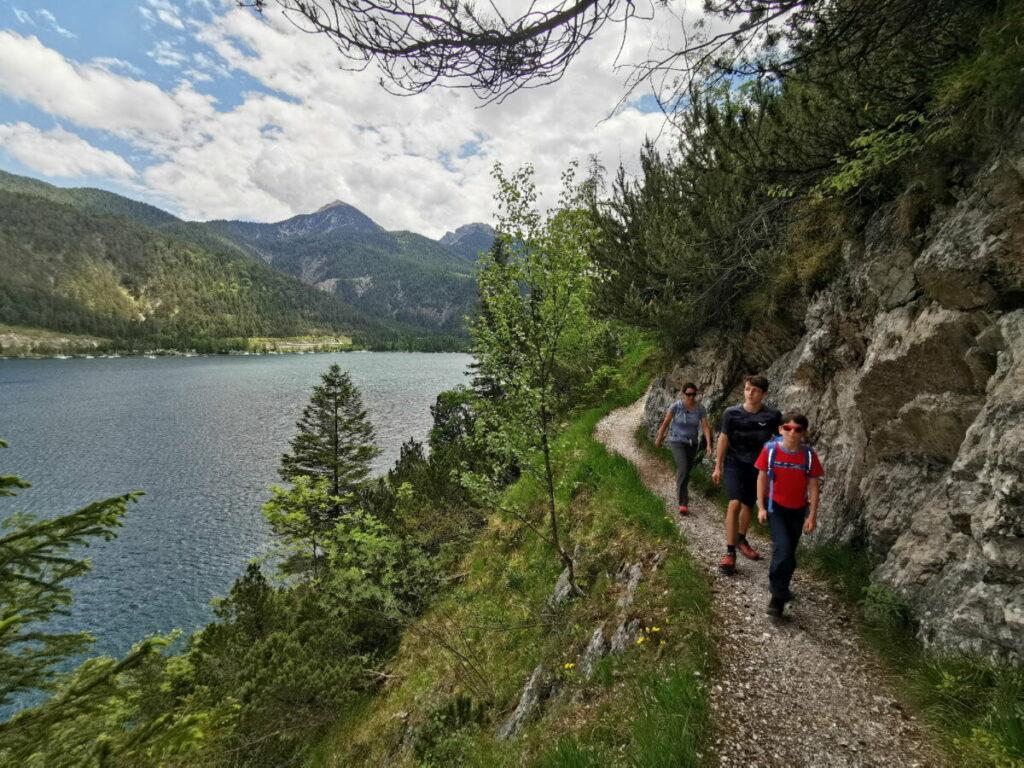 Das ist der Steig von der Gaisalm nach Achenkirch