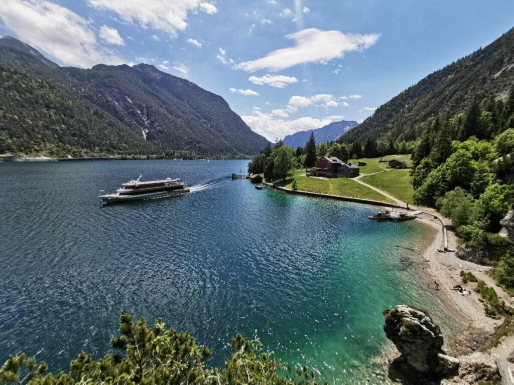 Gaisalm Achensee - als Wanderung im Karwendel oder Ausflug mit dem Schiff