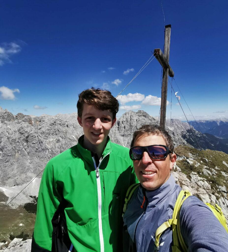 Bergtour im Wettersteingebirge auf die Gehrenspitze