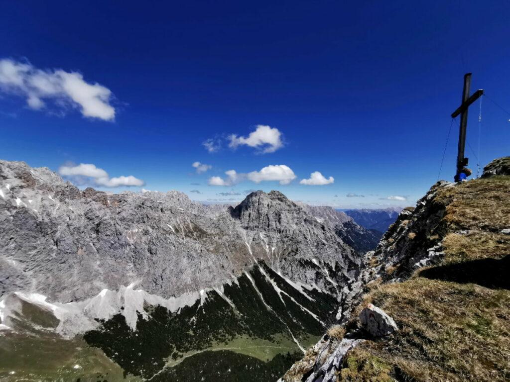 Auf einen besonderen Gipfel in der Leutasch wandern: Die Gehrenspitze