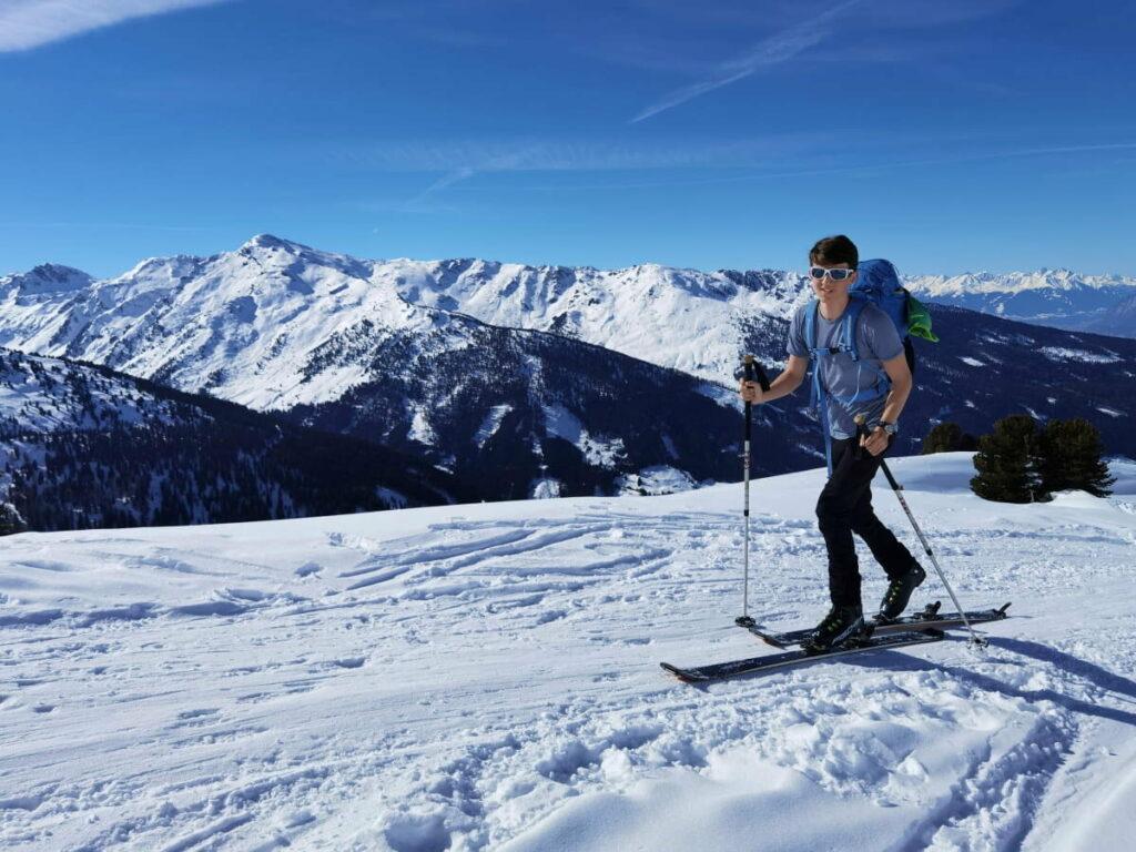 Ein Wintertraum, die Gilfert Skitour in den Tuxer Alpen