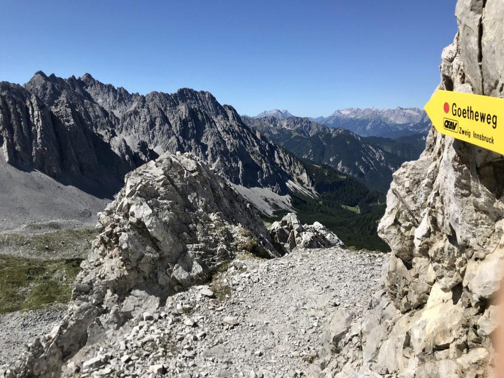 Panoramaweg der Luxusklasse: Der Goetheweg im Karwendel