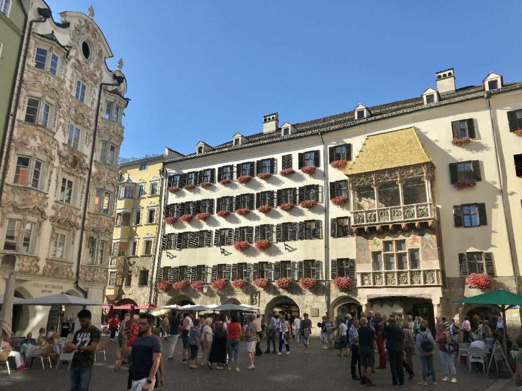 Goldenes Dachl - Eine der Top Innsbruck Sehenswürdigkeiten