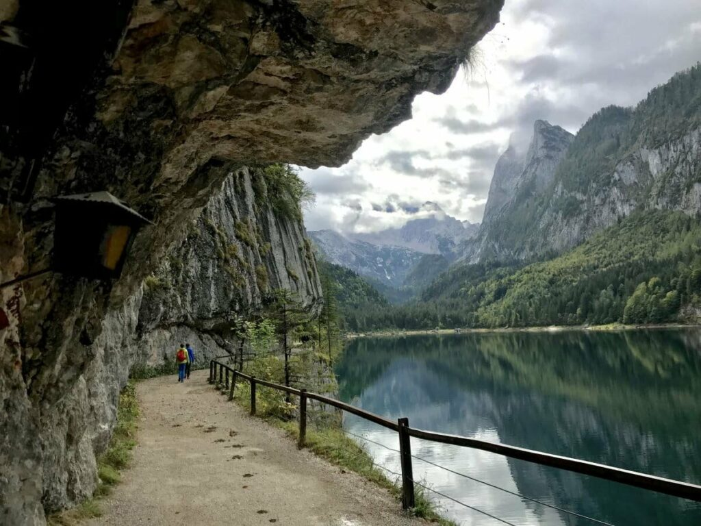 Einer romantischsten Österreich Seen - der Gosausee
