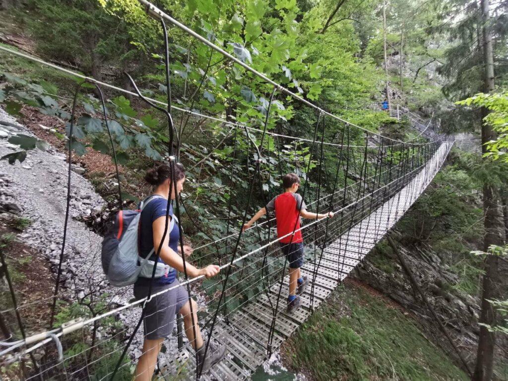 Geheimste Hängebrücke Österreich - die findest du sicher nicht ohne unsere Beschreibung!