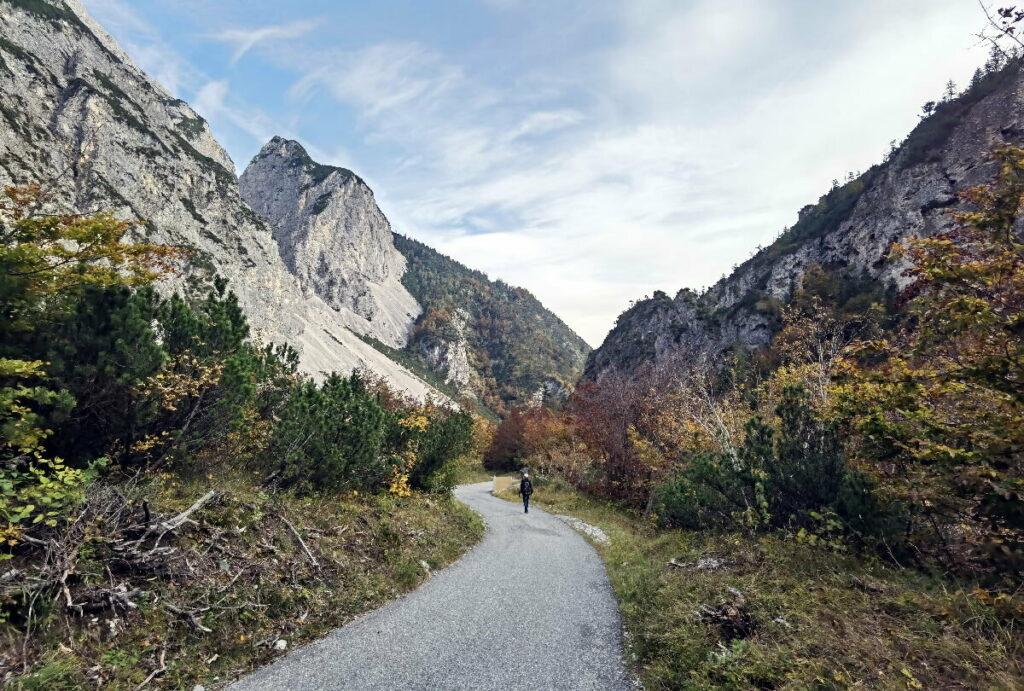 Von Absam hinein ins Karwendel