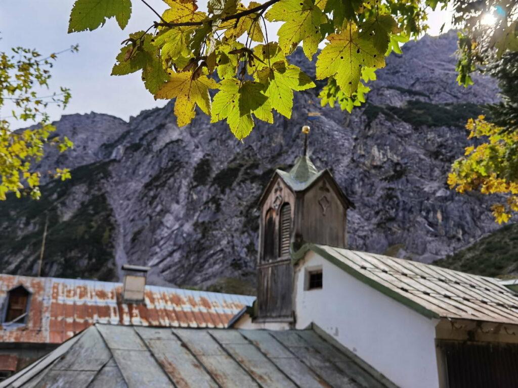 Im oberen Halltal befinden sich die Herrenhäuser: Zeugnis des Salzbergbau