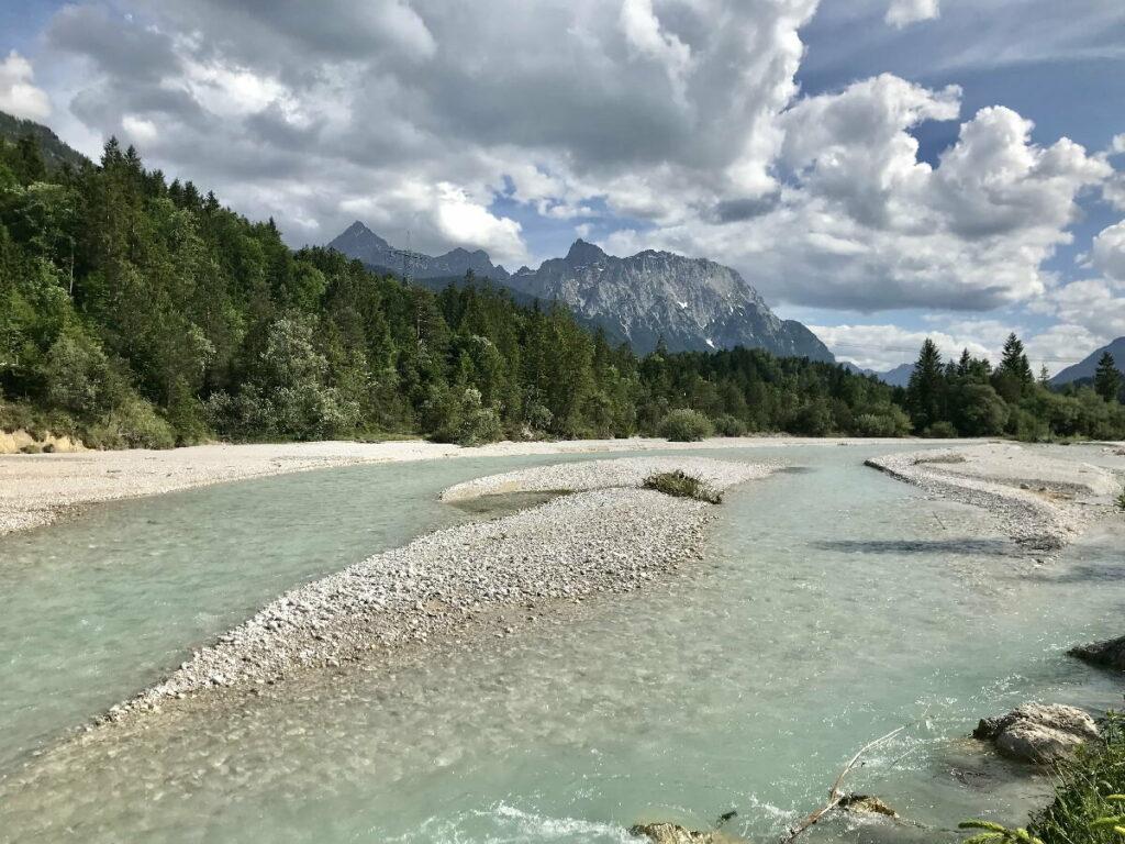 Herbst Urlaub an der Isar - auf dem Isar-Natur-Erlebnisweg