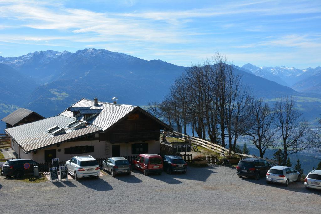 Mautstraße Gnadenwald: Das ist der Hinterhornalm Parkplatz