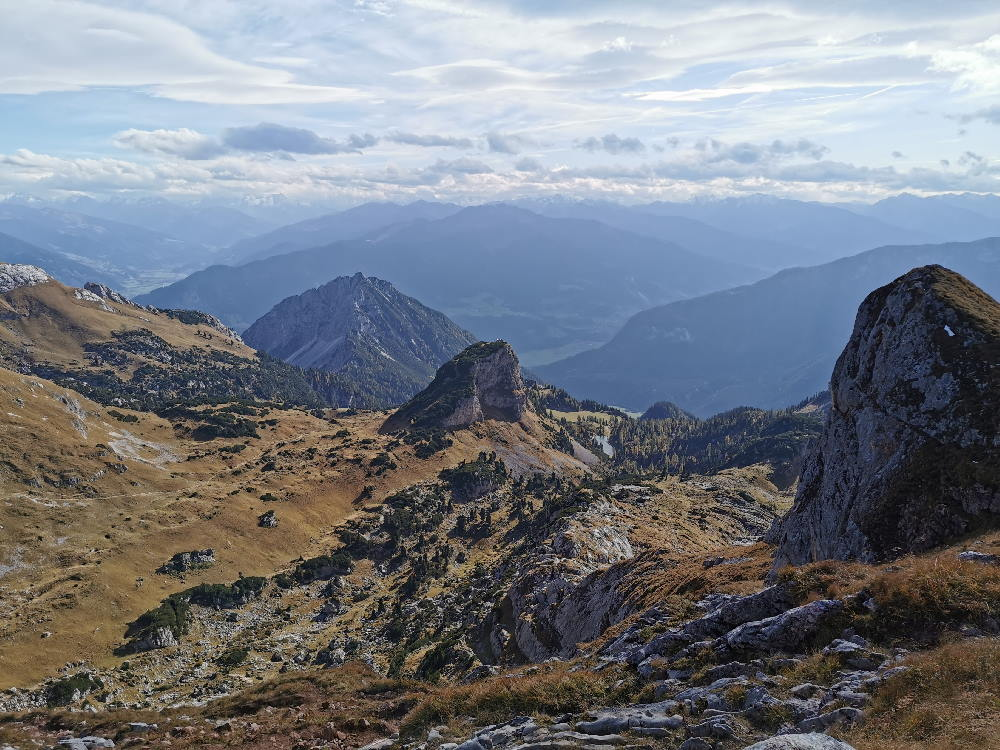 Hochiss Wanderung - Rundtour über den Dalfazer Kamm
