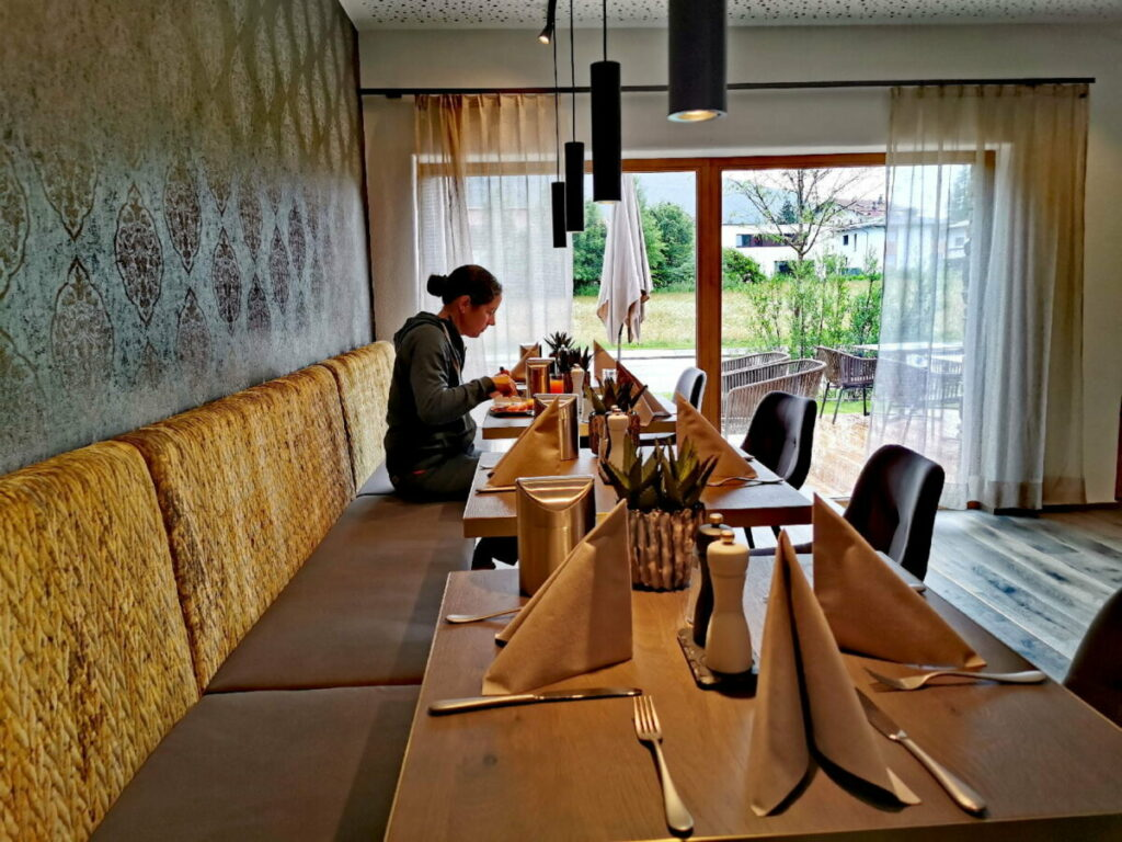 Sich wohlfühlen in einem der Karwendel Hotels und gut frühstücken