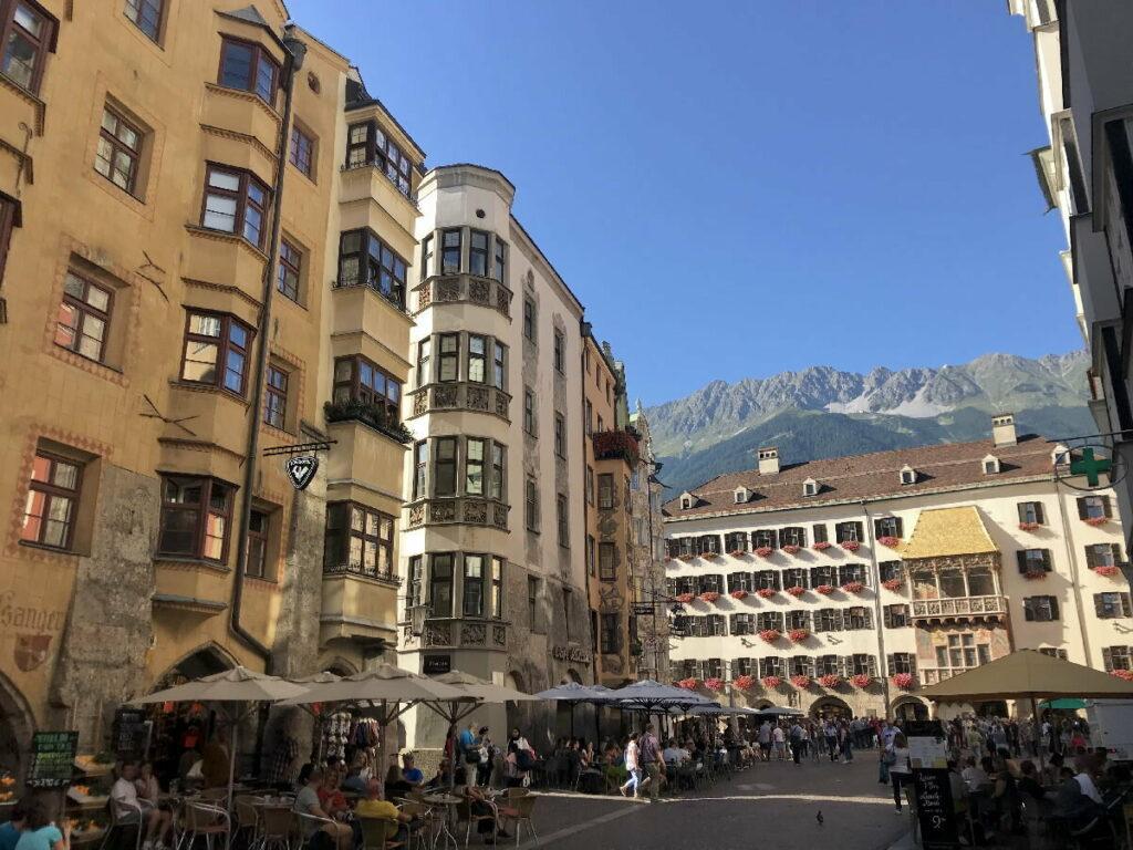 Karwendel Ferienwohnung Innsbruck - hier kannst du aus der Stadt direkt hinauf ins Karwendelgebirge