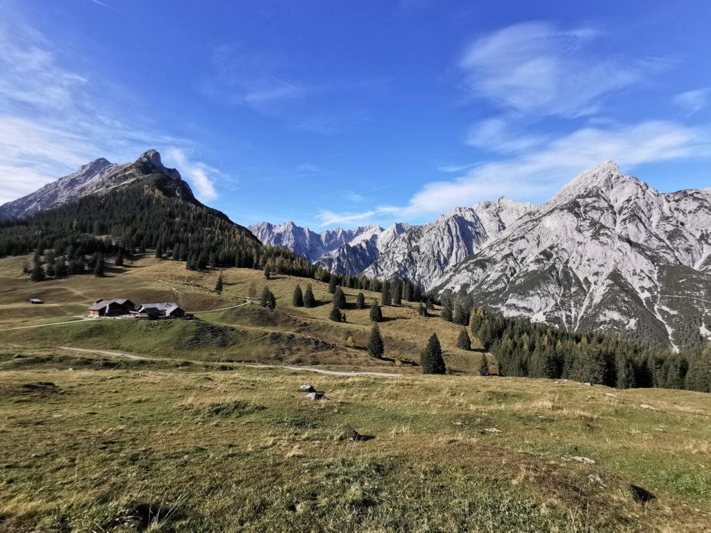 Das Inntal wie es fast keiner kennt: Das ist die Alm oberhalb von Hall in Tirol