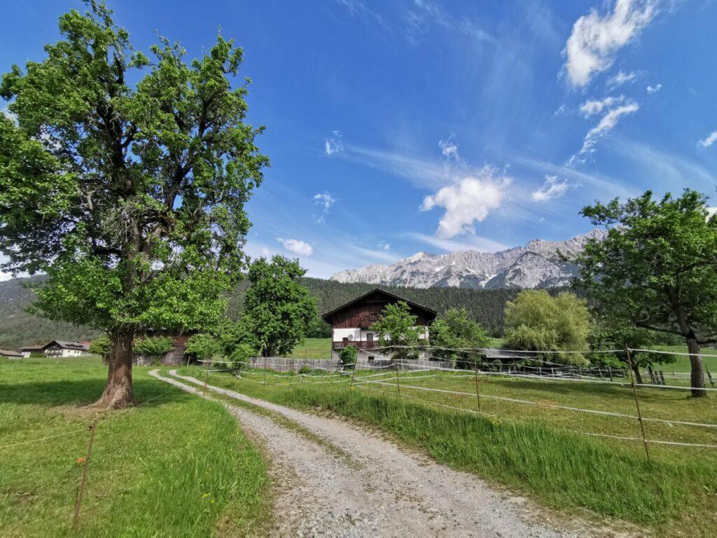 Vom Inntal geht´s Richtung Karwendel
