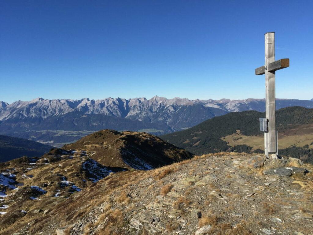 Inntaler Höhenweg wandern - mit vielen Gipfeln und Aussichtspunkten