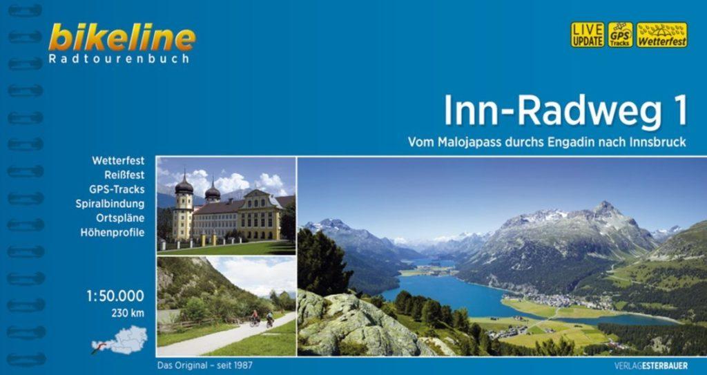 Inntalradweg Karte - alle Etappen detailliert mit Karten und Wegbeschreibung!