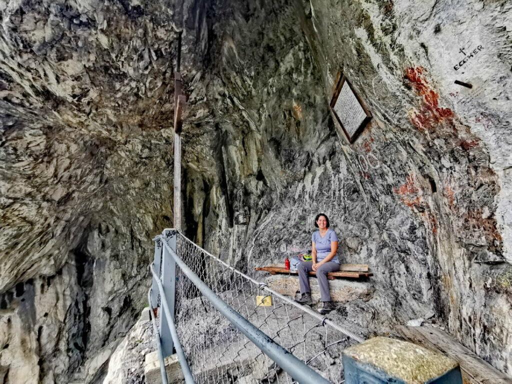 So ist es in der Kaiser Maximilian Grotte