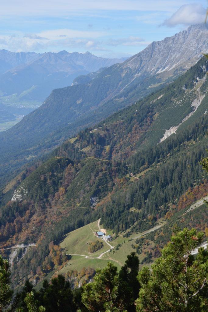Kaisersäule Wanderung - kleine Thaurer Alm, großes Karwendel