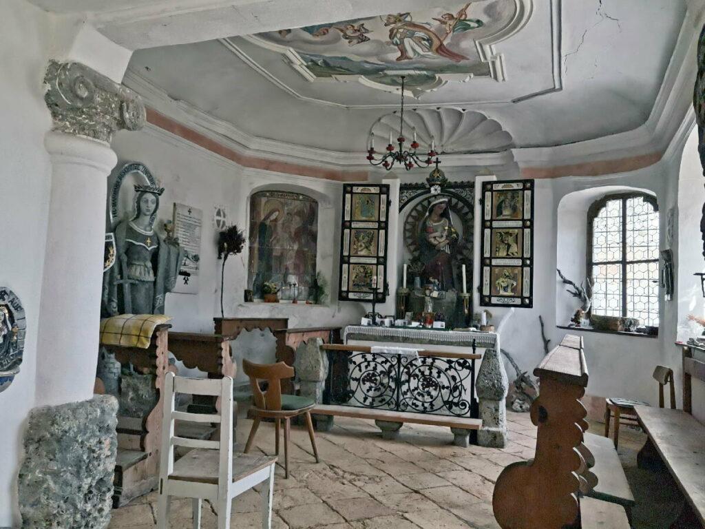 Für die Bergknappen gab es eine eigene Kapelle in den Herrenhäusern
