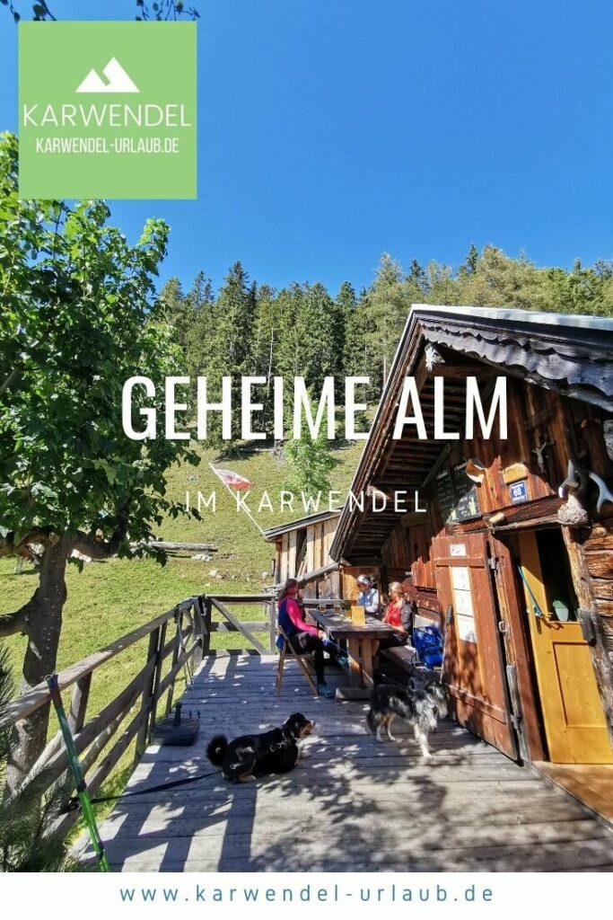 Almwanderung zur geheimen Waldhorbalm im Karwendel