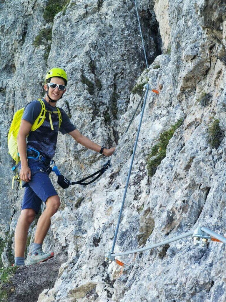 Klettersteige Karwendel - von leicht bis schwer gibt es eine große Auswahl!