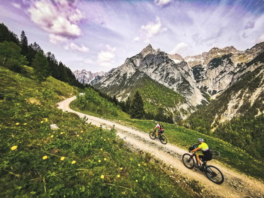 Karwendel Mountainbiken - so liebe ich es!