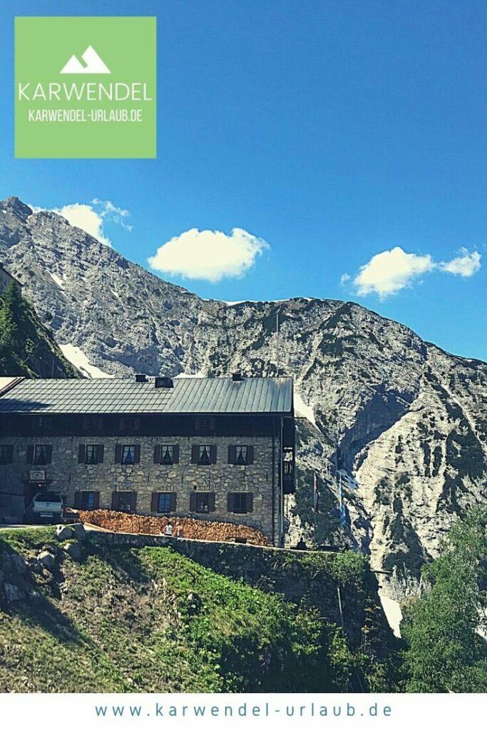 Traumkulisse im Karwendel - das Karwendelhaus