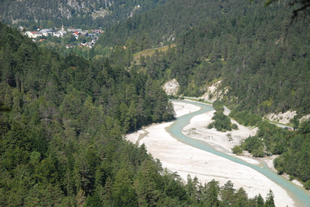In Scharnitz startet der Karwendelmarsch
