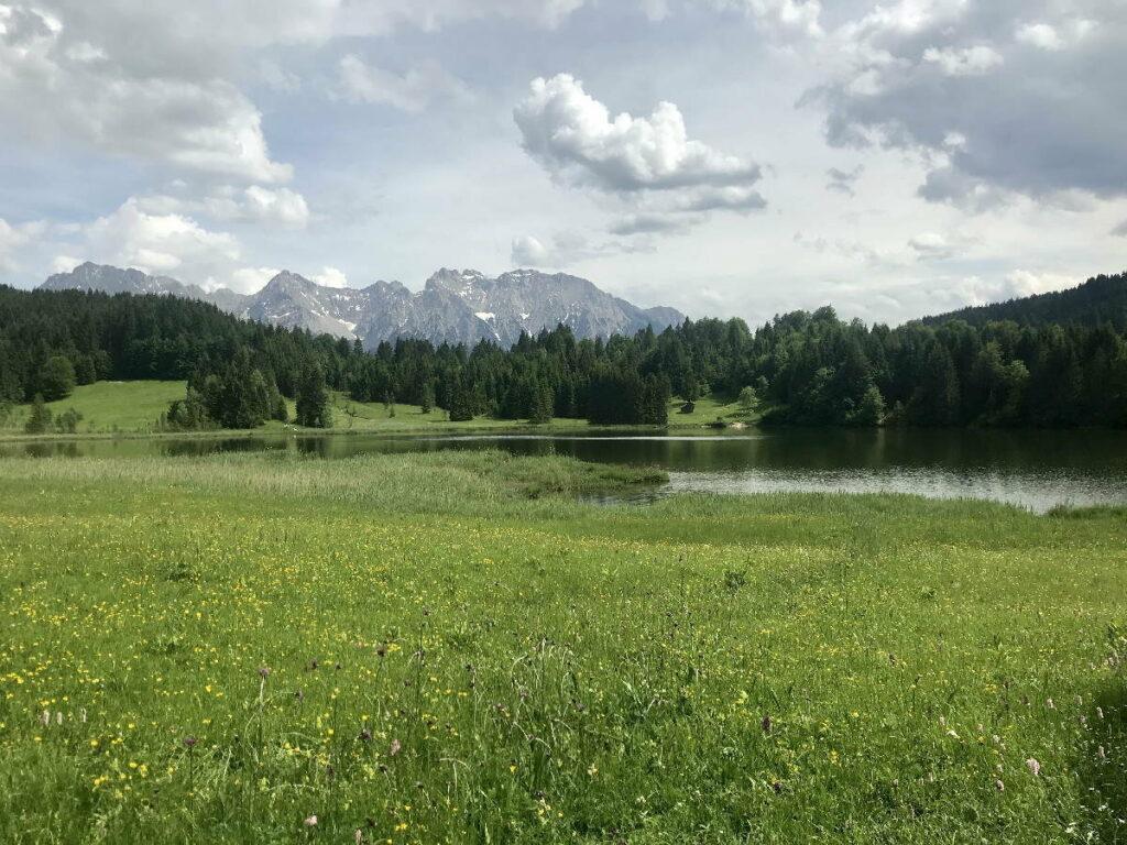 In Klais wandern und diese schöne Landschaft entdecken