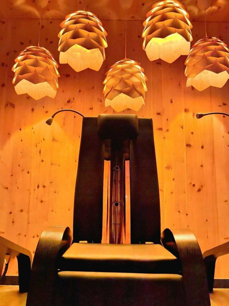 isch - die Infrarotliege im Krumers Resort Seefeld