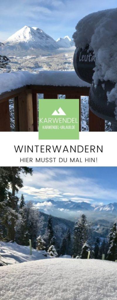 Kurblhang merken für den nächsten Wintertag in den Bergen