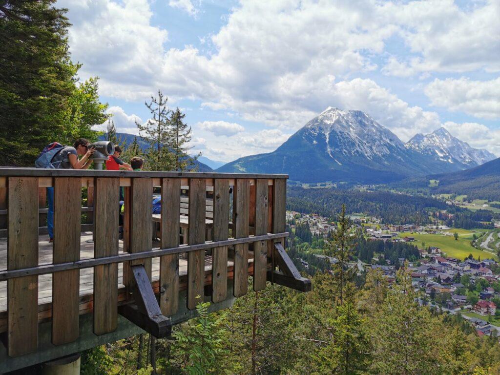 Kurblhang Leutasch - Ausflugsziel mit Kindern