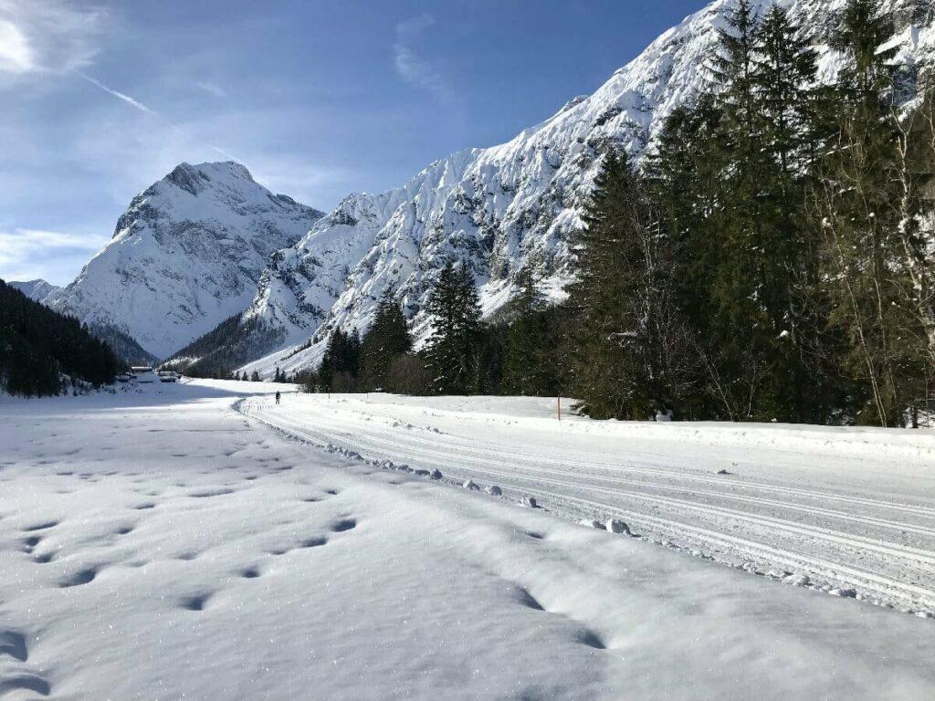 Langlaufen Achensee - viel Winteridylle im Karwendel