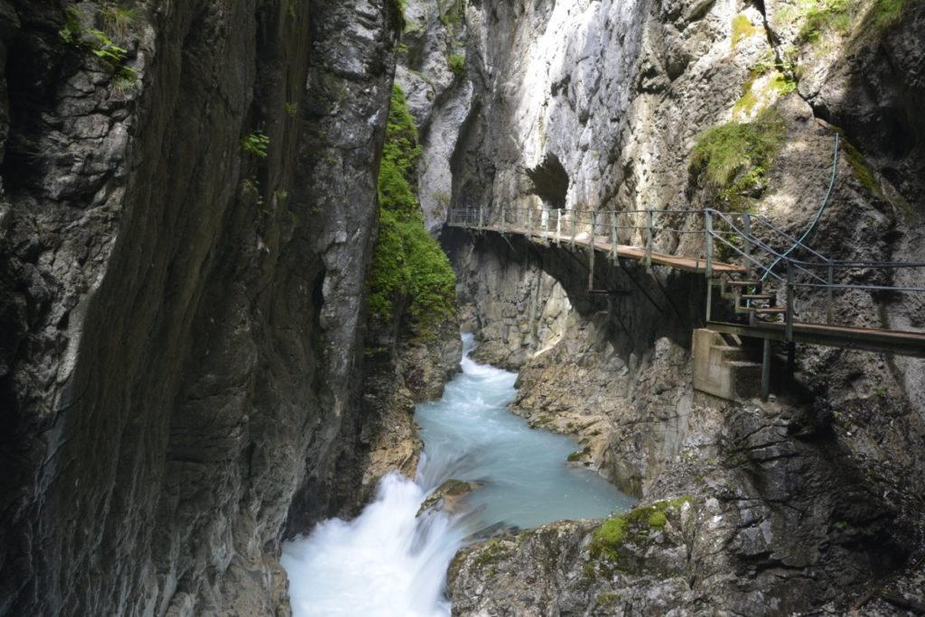 Die neue Klamm oder auf den alten Leutaschklamm Wasserfallsteig?