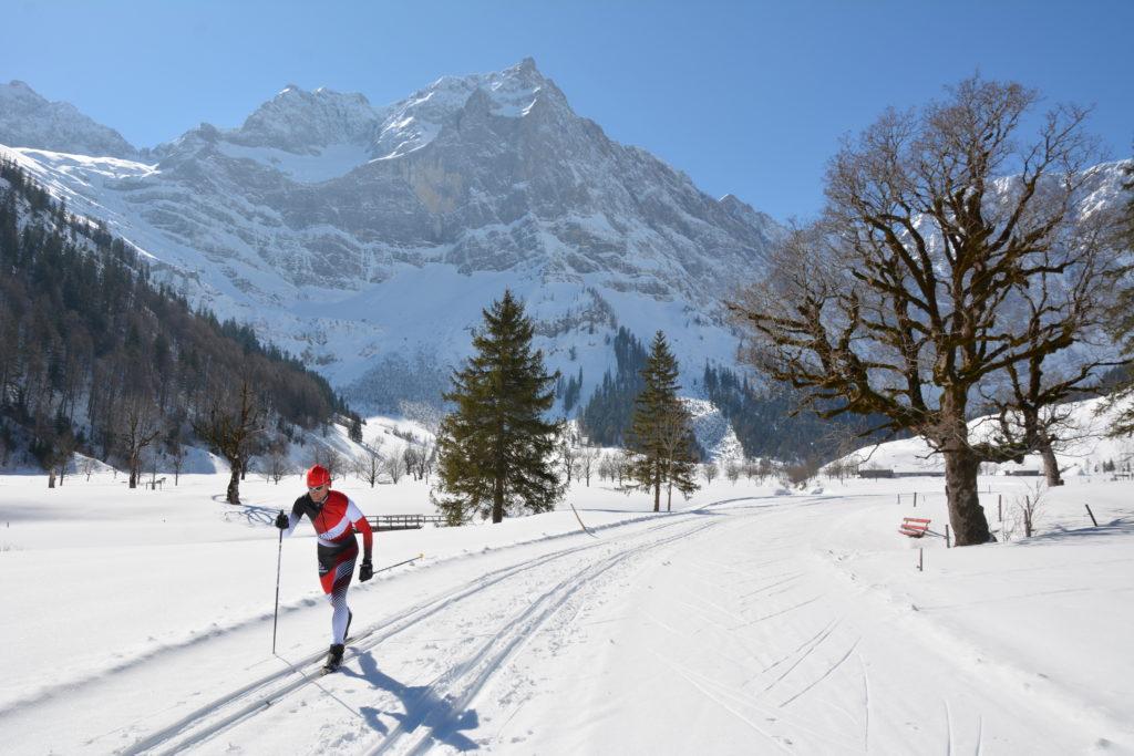 Loipe Hinterriß im Karwendel - schöner kannst du nicht langlaufen!