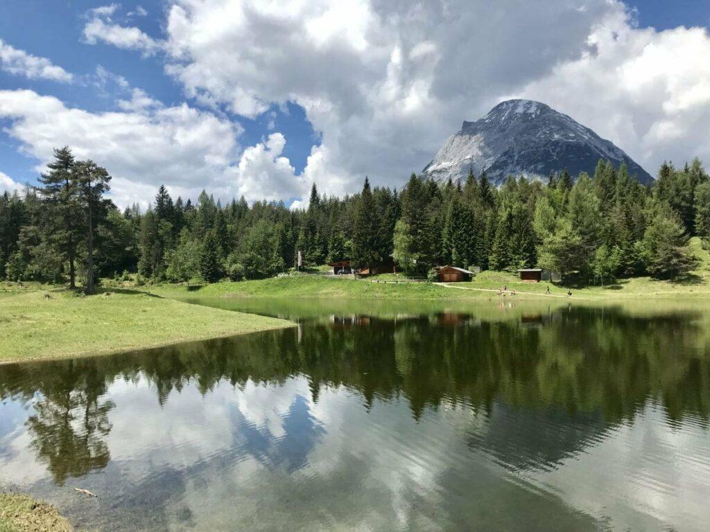 Lottensee - einer der periodischen Seen in Österreich