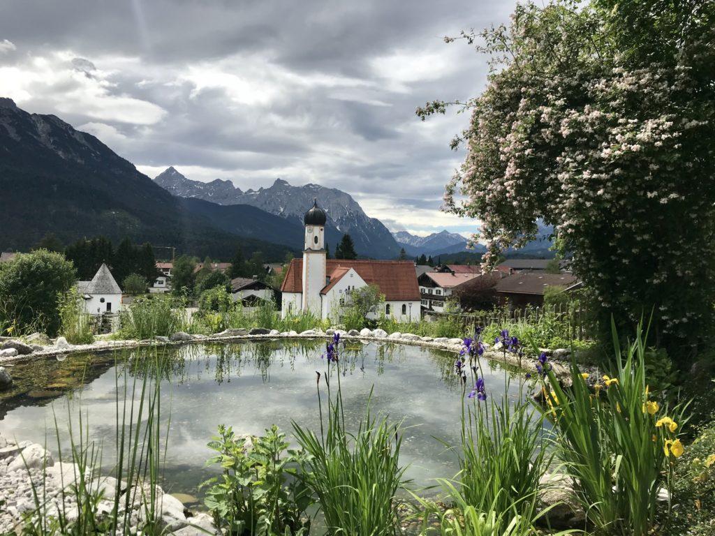 Mautstrasse Wallgau - so schön ist es im Ort mit dem Karwendel