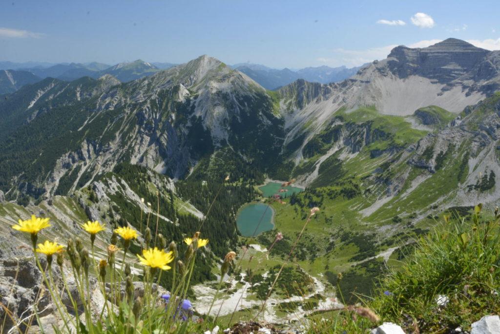 Anspruchsvoll in Mittenwald wandern - zu den Soiernseen im Karwendel