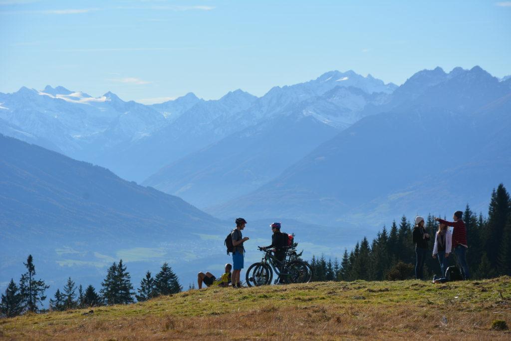 Mountainbiken und wandern im Karwendel