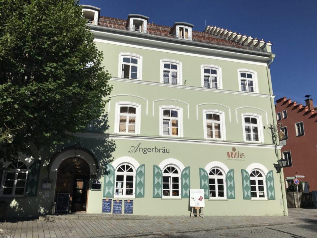 Historische Häuser im Ort