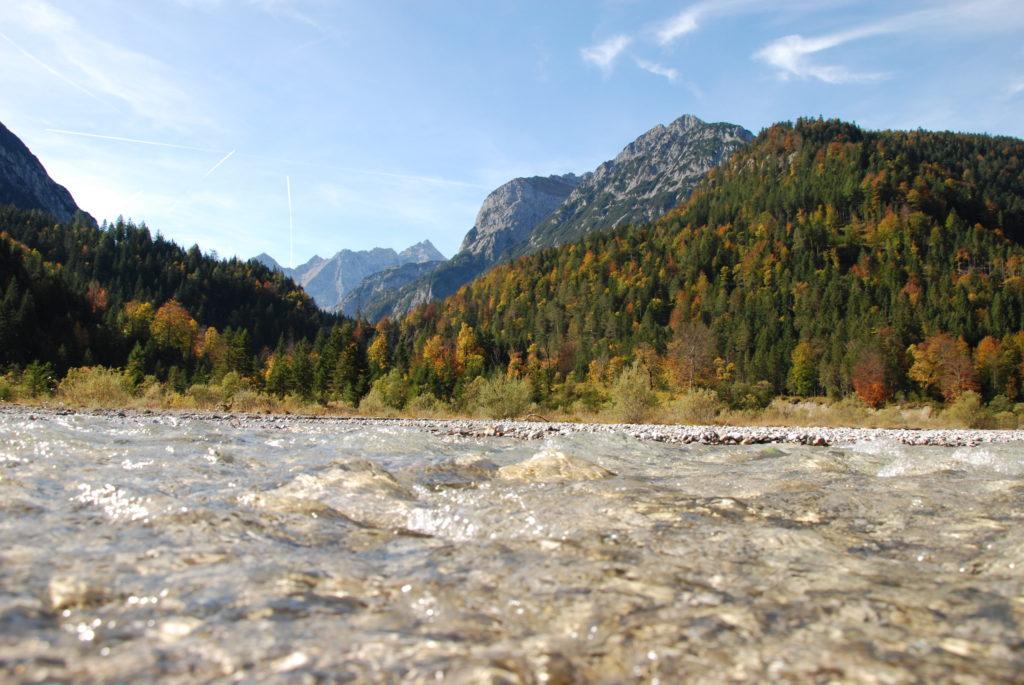 Naturpark Karwendel in Tirol - Das Rißtal