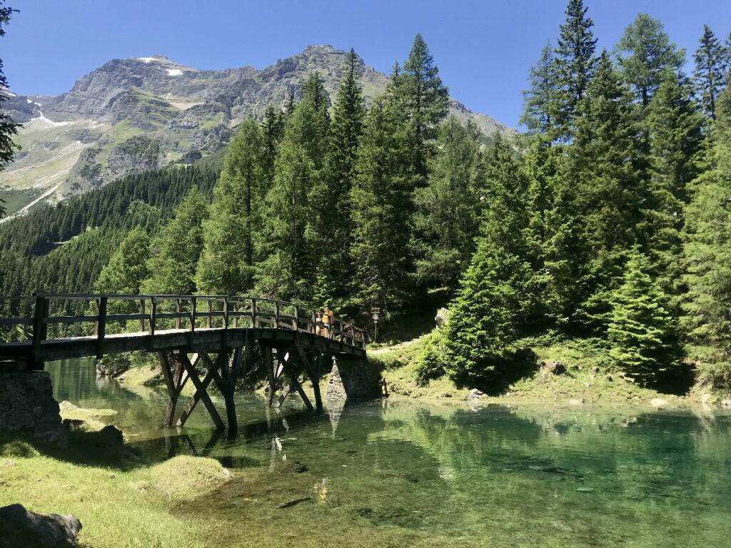 Geheimer See in Österreich: Der Obernberger See nahe Innsbruck