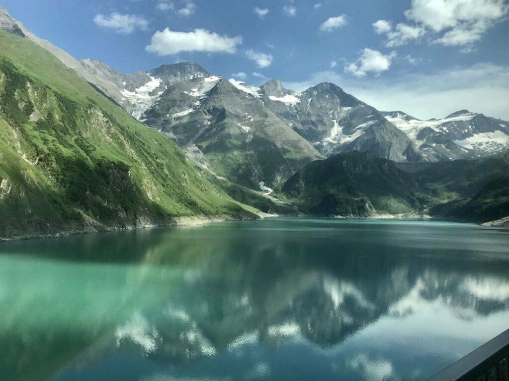 Künstliche Seen in Österreich - die Kaprun Stauseen in den Hohen Tauern