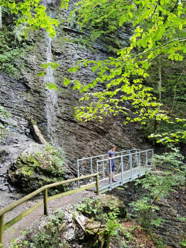 Schön zum Schauen: Der Partnachklamm Wasserfall