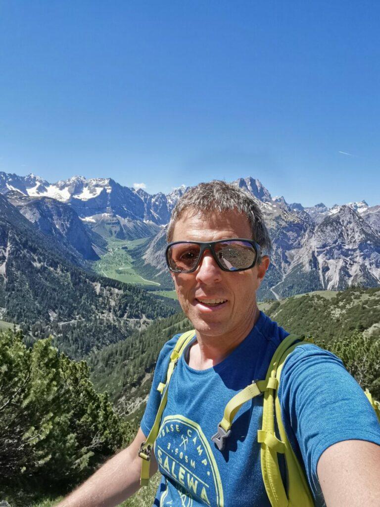 Ich wünsch dir viel Spaß auf der Plumsjochhütte und eine schöne Zeit in dieser schönen Gegend im Karwendel