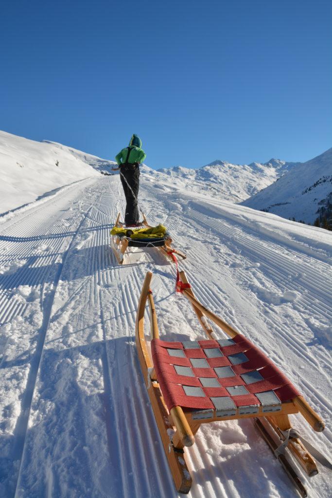 Rodeln Innsbruck im Winter - für uns ein tolles Wintervergnügen!