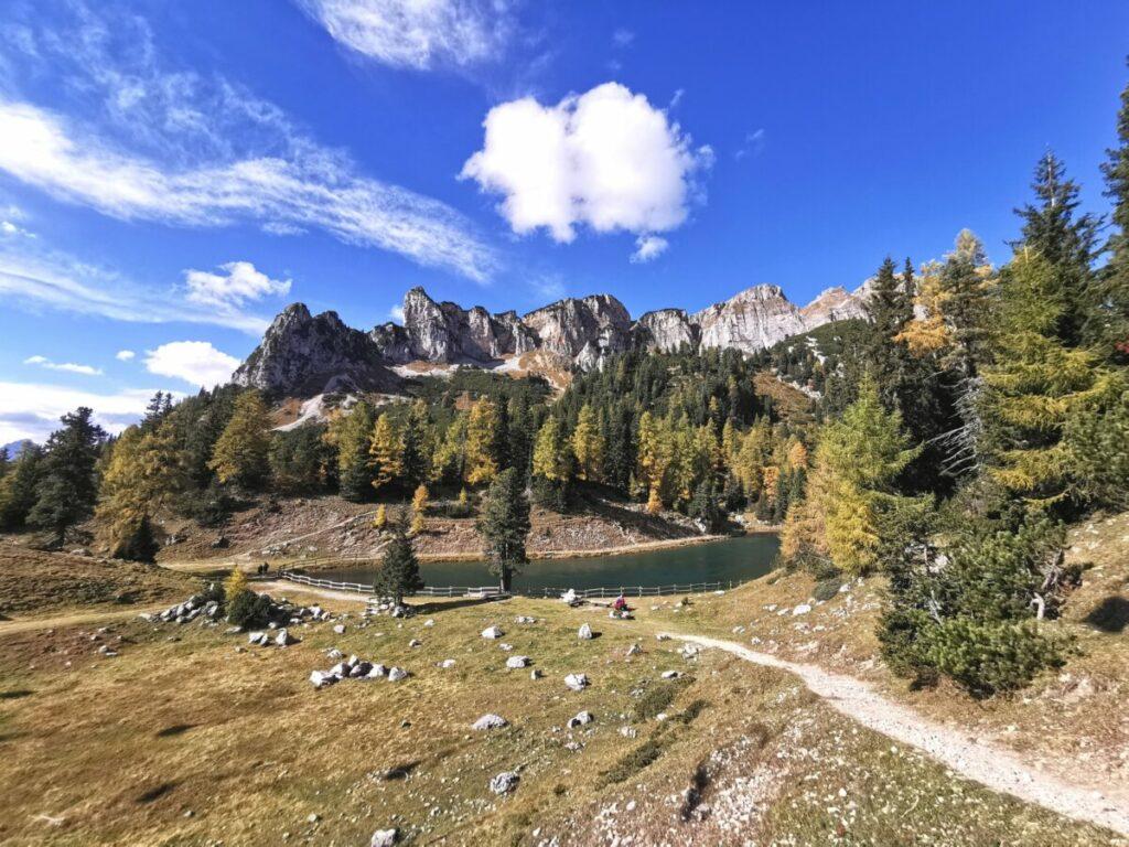 Farbenpracht und tolle Berge: Das Rofan in Tirol